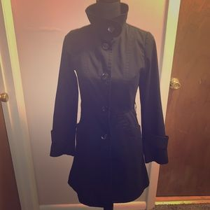 H&M Black Trench Jacket